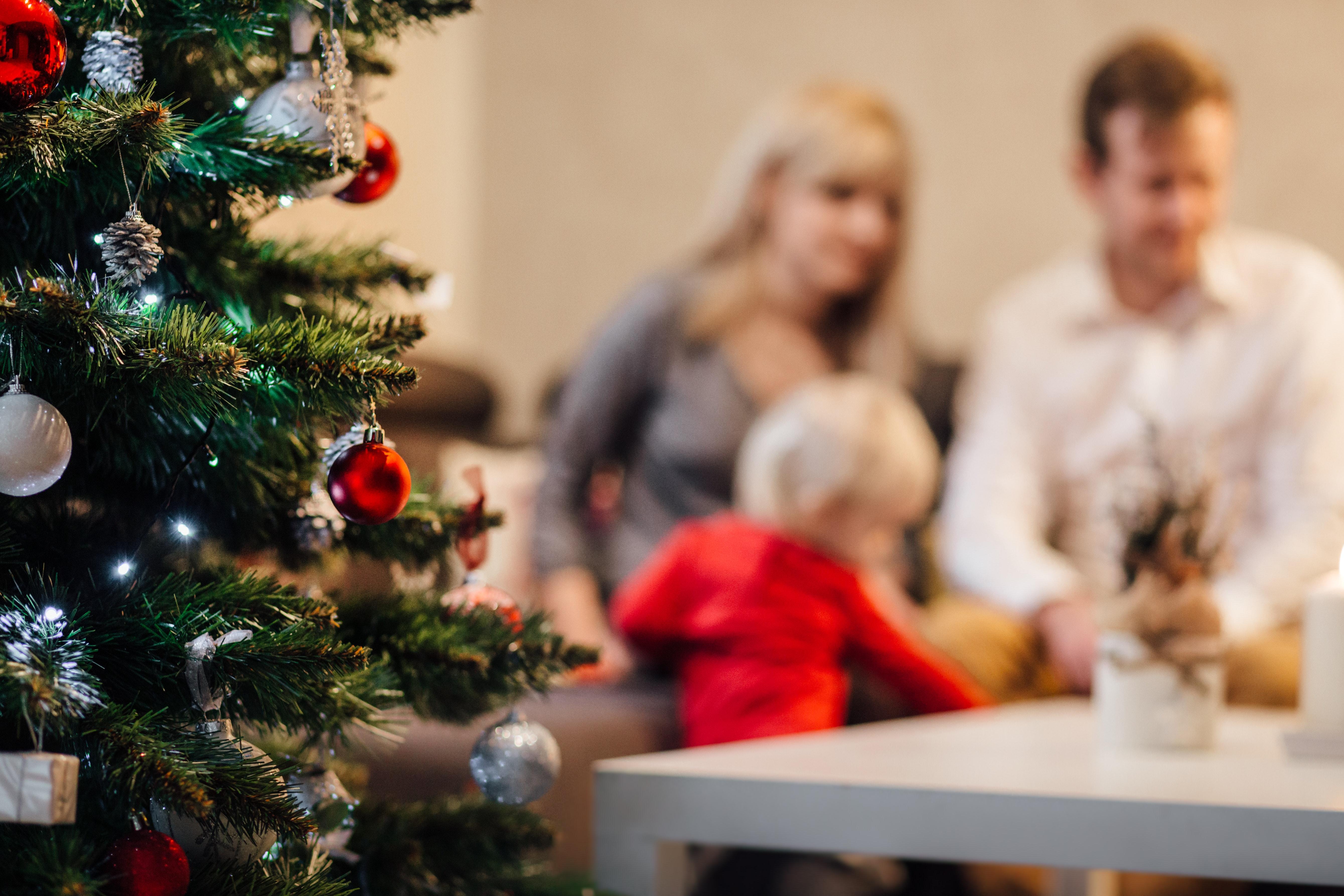 Family Christmas Back Pain